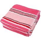 4x Superflausch Handtuch Streifendesign