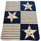 Kuscheldecke Sterne & Streifen, 150 x 200 cm - 68138800000 - 1 - 140px