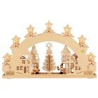 3D-Lichterbogen Weihnachtsmarkt, 52 x 32 x 4,5 cm