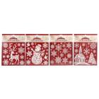 Dekosticker Weihnachten, 4 Motive, je 18 x 24 cm - 68208300000 - 1 - 140px