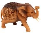 """Darimana Elefant mit Gravur """"Hathi"""", 22 cm - 68294100000 - 1 - 140px"""