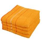 OPTISPLASH Handtuch, gelb, 50 x 100 cm, 4er Set