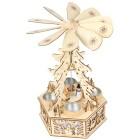 Weihnachtspyramide aus Holz, 22 x 18 x 34 cm - 68339400000 - 1 - 140px