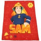 Feuerwehrmann Sam Fleecedecke, 130 x 160 cm - 68343300000 - 1 - 140px