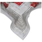 Mitteldecke Weihnachten Holzoptik, 85 x 85 cm - 68364400000 - 1 - 140px