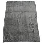 Kuscheldecke Mélangeoptik, grau, 150 x 200 cm - 68366300000 - 1 - 140px