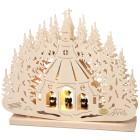 SAICO, Leuchter Seiffener Kirche, 32 x 26 x 4,5 cm - 68369000000 - 1 - 140px
