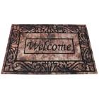 """Fußmatte """"Welcome"""" beige-braun, 60 x 40 cm"""