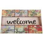 Fußmatte Blumen, beige-bunt, 75 x 45 cm - 68411800000 - 1 - 140px