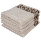 Handtuch taupe, 50 x 100 cm, 4er-Set - 68430100000 - 1 - 140px