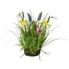 Frühlingsmix im Erdballen, bunt, 30 cm - 68438200000 - 1 - 140px
