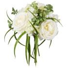 Mixstrauß Rosen/Hortensie, weiß, 20 cm - 68441400000 - 1 - 140px