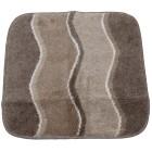 GRUND Badteppich taupe, Wellen, 55 x 60 cm - 68448900000 - 1 - 140px