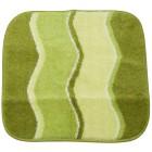GRUND Badteppich grün, wellig, 55 x 60 cm