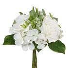 Rosenstrauß in weiß, 22 cm - 68452800000 - 1 - 140px