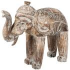 Darimana Elefant white wash, 45 cm - 68454200000 - 1 - 140px