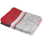 Geschirrtücher, Verzierungen, rot-grau, 4-teilig - 68459500000 - 1 - 140px