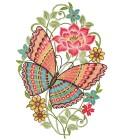 """Fensterbild """"Schmetterling"""" - 68474300000 - 1 - 140px"""