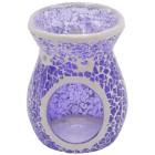 Duftlampe für Teelicht aus Glas und Keramik lila - 68487300000 - 1 - 140px