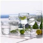 Rotweinglas-Set, 6-teilig klar