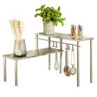 WENKO Küchenregal mit 2 Ablagen - 69171400000 - 1 - 140px
