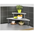 WENKO Küchen-Eckregal Massivo Duo mit 2 Ablagen - 69180900000 - 1 - 140px