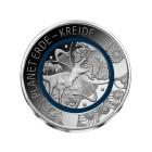 Sammlermünze Ausgabe Planet Erde - Kreide