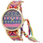 "Donna Kelly Damenuhr ""Hippie"" blau pink gold - 93692200000 - 1 - 140px"
