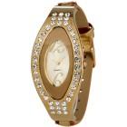 Pacific Time Damenuhr Kristalle goldfarben Quarz - 94014300000 - 1 - 140px