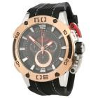 ISW Herren-Chronograph Silikonband