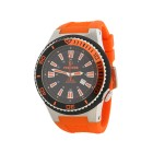 "KIENZLE Herrenuhr ""Poseidon"" XL orange"