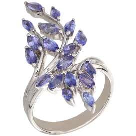 Ring 925 Sterling Silber Tansanit