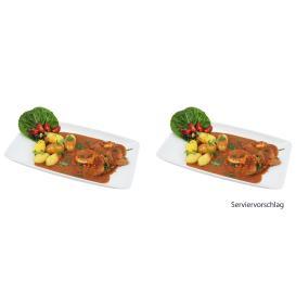 Schnitzel in Pfifferlingsoße