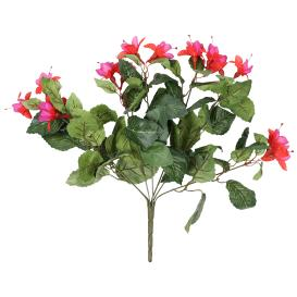 Fuchsienbusch 40 cm, rot-lila