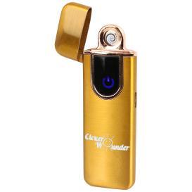 Clever Wounder USB Feuerzeug GOLD
