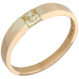 Ring 585 Gelbgold Diamant
