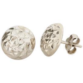 Ohrstecker 925 Sterling Silber, diamantiert