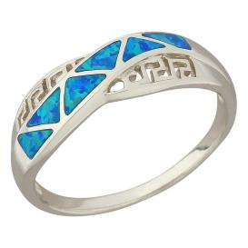 Ring 925 Sterling Silber Opal-Doublette