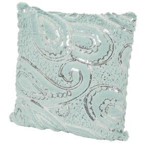 Image of Dekokissen Pailletten mint