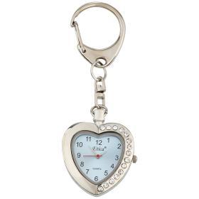 Image of Etica Schlüsselanhänger mit Uhr, Modell Herz