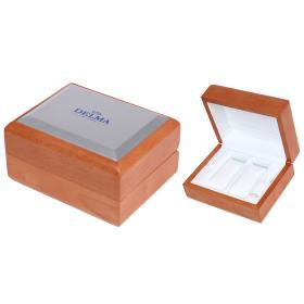 Image of DELMA Uhrenholzbox für 2 Uhren