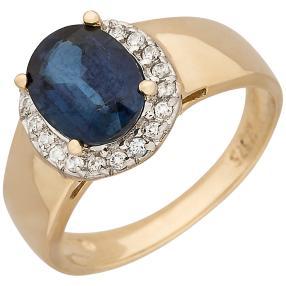 Ring 375 Gelbgold Kyanit