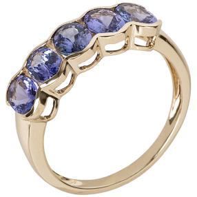 Ring 585 Gelbgold AAAATansanit
