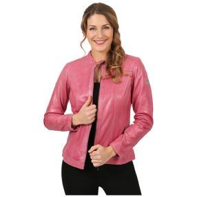 "OTTO KERN Damen-Lederjacke ""Adele"", pink"