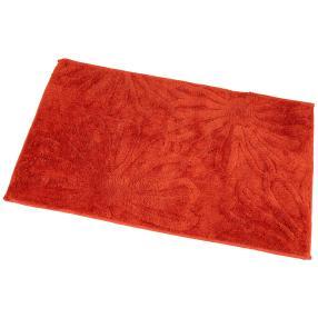 GÖZZE Badteppich Blume rot
