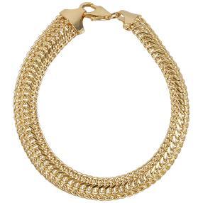 Sadusaarmband 585 Gelbgold
