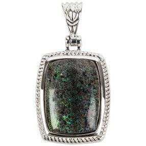 Anhänger 925 Sterling Silber Matrix Opal