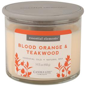 "Candle-Lite Duftkerze ""Blood Orange & Teakwood"""