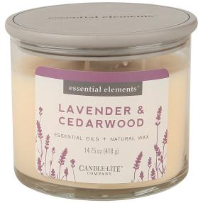 "Candle-Lite Duftkerze ""Lavender & Zedarwood"""