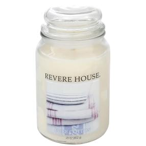 Revere House Duftkerze Pure Cotton 652g